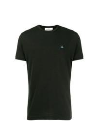 Camiseta con cuello circular negra de Vivienne Westwood