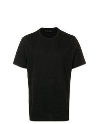 Camiseta con cuello circular negra de Zadig & Voltaire