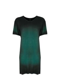 Camiseta con cuello circular verde oscuro de Avant Toi