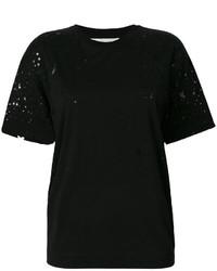 Camiseta de estrellas negra de Stella McCartney