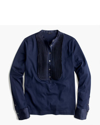 Camiseta de manga larga azul marino de J.Crew