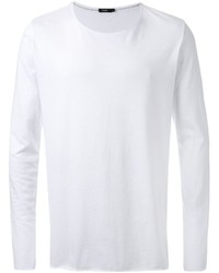 Camiseta de manga larga blanca de Bassike