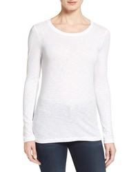 Camiseta de manga larga blanca de Caslon
