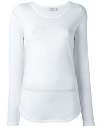 Camiseta de manga larga blanca de Closed