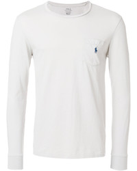 Camiseta de manga larga blanca de Polo Ralph Lauren