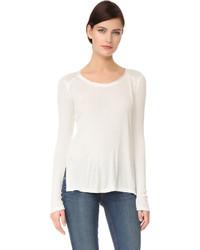 Camiseta de manga larga blanca de Rag & Bone