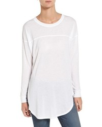 Camiseta de manga larga blanca de Splendid