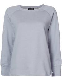 Camiseta de manga larga celeste de A.P.C.