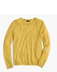 Camiseta de manga larga dorada de J.Crew