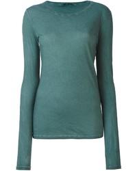Camiseta de manga larga en verde azulado de Humanoid