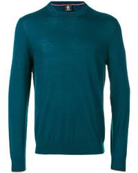 Camiseta de manga larga en verde azulado de Paul Smith