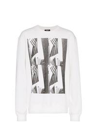 Camiseta de manga larga estampada blanca de Calvin Klein 205W39nyc