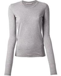 Camiseta de manga larga gris de Acne Studios