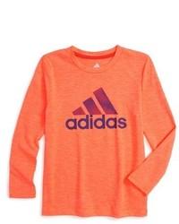 Camiseta de manga larga naranja