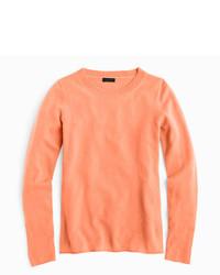 Camiseta de manga larga naranja de J.Crew