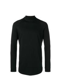 Camiseta de manga larga negra de Devoa