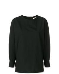 Camiseta de manga larga negra de Hache