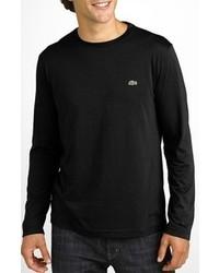 busca lo mejor disfruta el precio más bajo descuento más bajo Comprar una camiseta de manga larga negra Lacoste   Moda ...