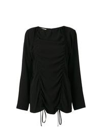 Camiseta de manga larga negra de Marni
