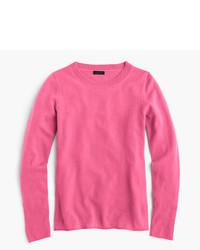 Camiseta de manga larga rosa de J.Crew
