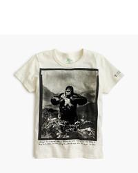 Camiseta estampada blanca de J.Crew