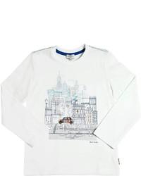 Camiseta estampada blanca de Paul Smith