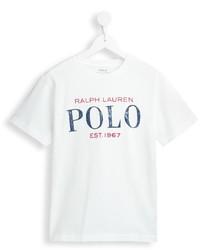 Camiseta estampada blanca de Ralph Lauren