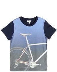 Camiseta estampada celeste de Paul Smith