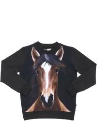 Camiseta estampada negra de Molo