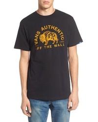 Camiseta estampada negra de Vans