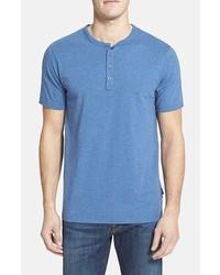 Camiseta henley azul de Patagonia