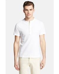 Camiseta henley blanca de Billy Reid