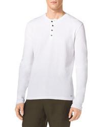 Camiseta henley blanca de Michael Kors