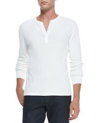 Camiseta henley blanca de Ralph Lauren Black Label