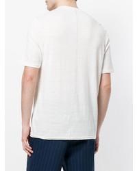 Camiseta henley blanca de Roberto Collina