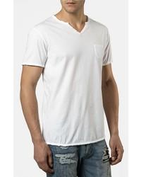 Camiseta henley blanca de Rogue