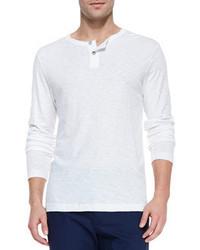 Camiseta henley blanca de Theory