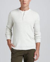 Camiseta henley blanca de Vince