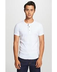 Camiseta henley blanca de Wings + Horns