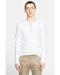 Camiseta henley blanca de Wings + Horns