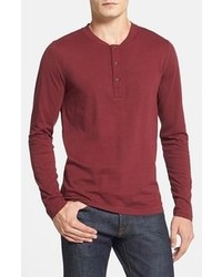 Camiseta henley burdeos de French Connection