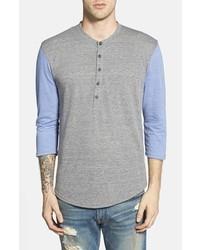 Camiseta henley gris de Alternative