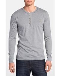 Camiseta henley gris de Diesel