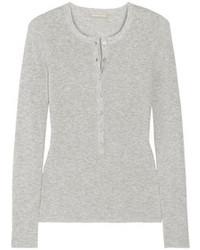 Camiseta henley gris de Michael Kors