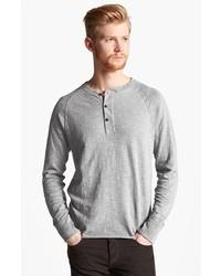 Camiseta henley gris de rag & bone