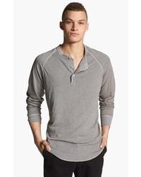 Camiseta henley gris de Save Khaki