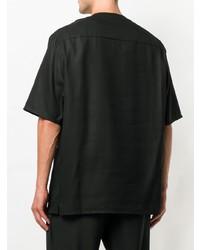 Camiseta henley negra de Lemaire