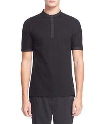 Camiseta henley negra de Helmut Lang