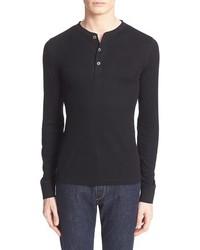 Camiseta henley negra de Polo Ralph Lauren