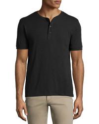 Camiseta henley negra de Vince